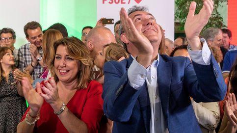 Espadas calienta el debate y acusa a Susana Díaz de ser la elegida por la derecha