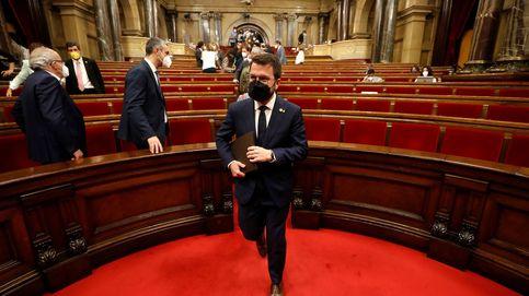 Aragonès abre la investidura tendiendo la mano a los comunes pensando en los Presupuestos de 2022
