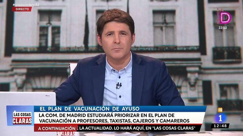 El presentador Jesus Cintora. (RTVE)