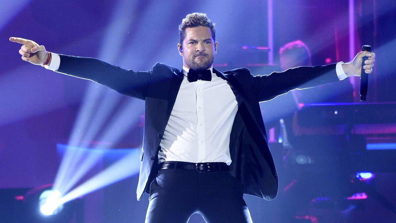 David Bisbal en los Grammy Latinos. (Gtres)