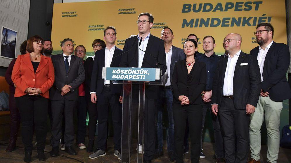 Foto: El recientemente elegido nuevo alcalde de Budapest. (EFE)
