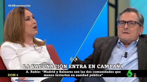 Bronca entre Marhuenda y Angélica Rubio: Ayuso odia a los madrileños