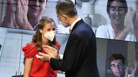 Del vestido Corina de Leonor a su discurso bilingüe: los 6 detalles de los Princesa de Girona