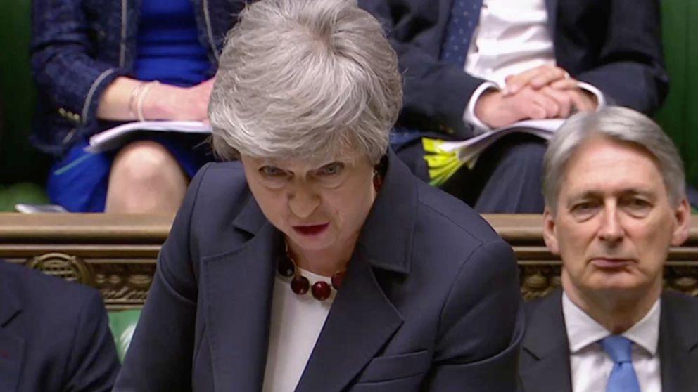 May ofrece su dimisión para que el Parlamento apruebe su acuerdo del Brexit