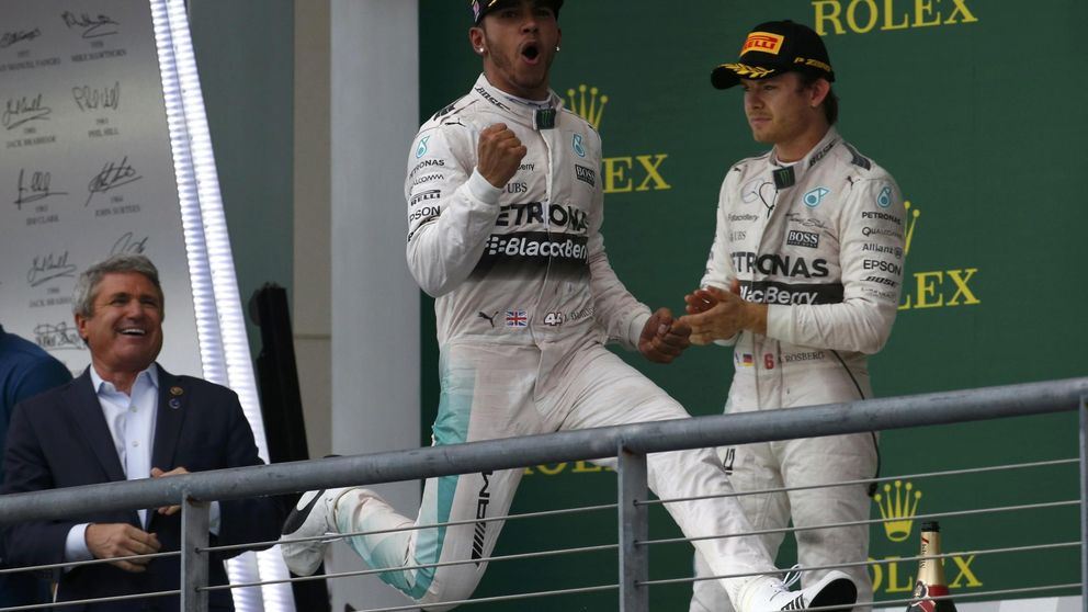 ¿Explotará Mercedes en 2016? Hamilton y Rosberg están enfrentados
