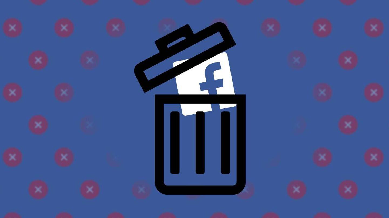 Imagen de la campaña #deletefacebook