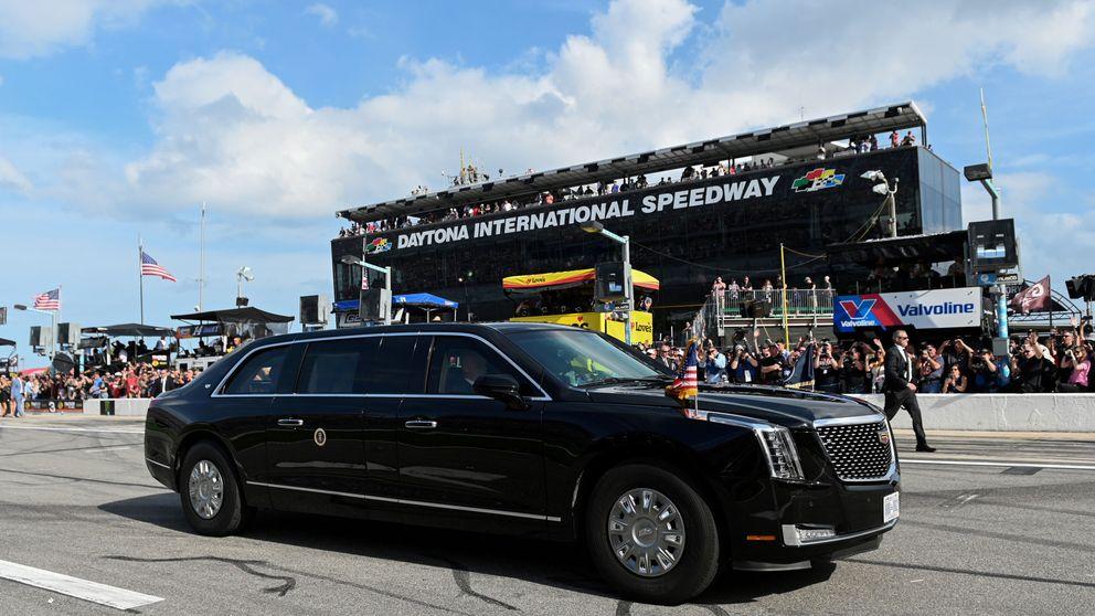 Donald Trump da la salida a la histórica carrera de las 500 Millas de Daytona
