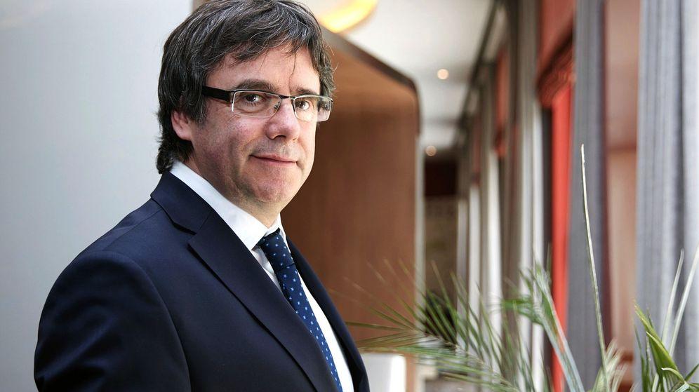 Foto: El expresidente Carles Puigdemont. (EFE)lversación