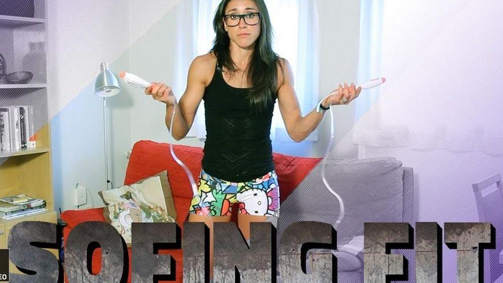 Amaya Fitness y su tabla para conseguir piernas y glúteos