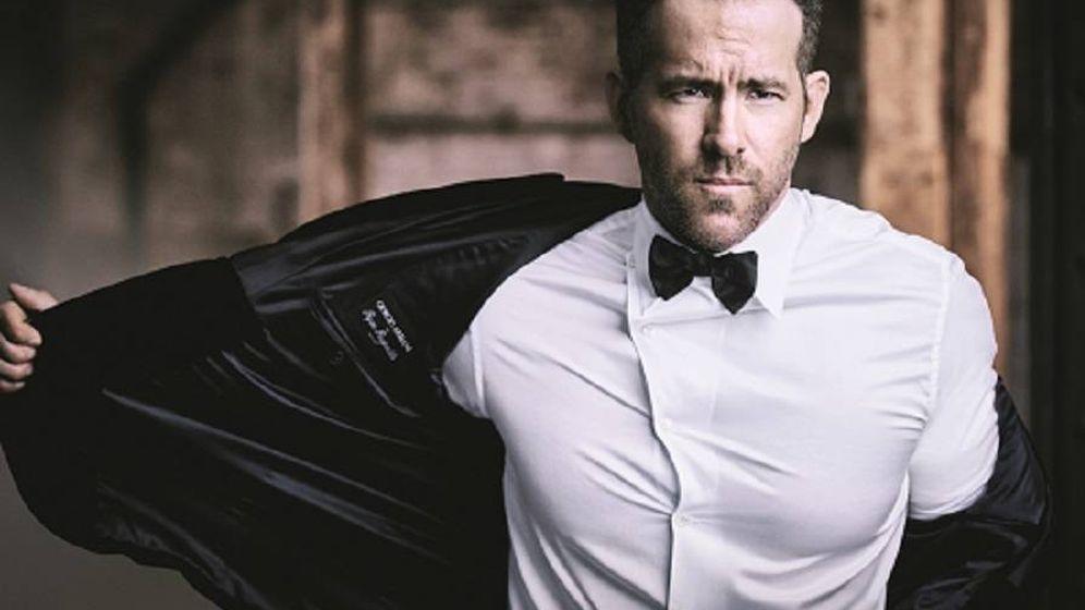 Foto: Ryan Reynolds en una campaña de Giorgio Armani.