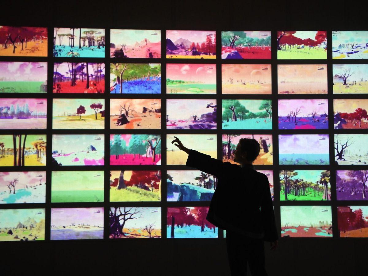 Foto: Una exposición de videojuegos en Londres. (EFE)
