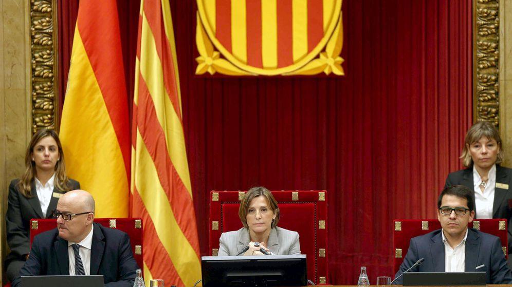 Foto: a presidenta del Parlament, Carmen Forcadell. (Efe)