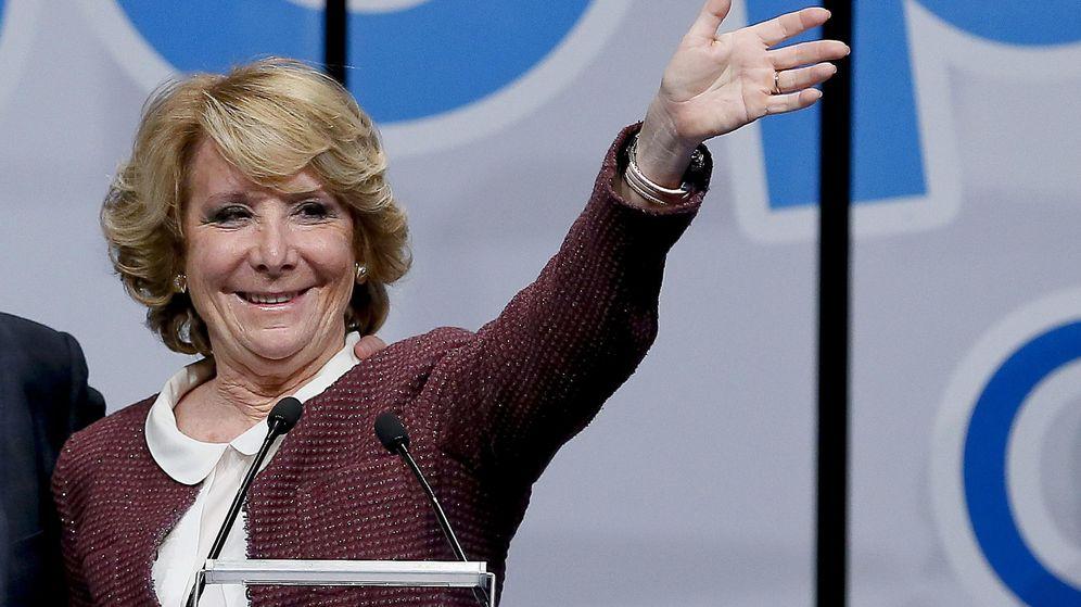 Foto: La candidata del PP a la alcaldía de Madrid, Esperanza Aguirre. (EFE)