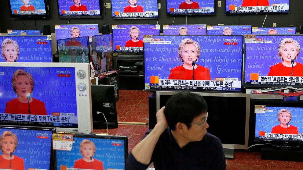 Las primeras encuestas dan la victoria a Hillary Clinton en el debate presidencial