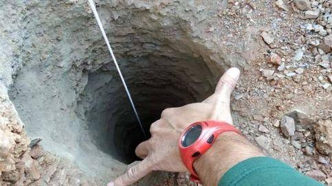 Así es el pozo en el que se ha caído el niño de dos años en Málaga