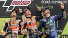 Marc Márquez encabeza el podio español de MotoGP en Brno