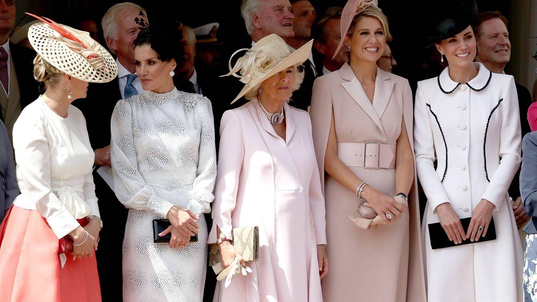 Dos reinas, dos duquesas y una condesa: Letizia y Kate Middleton juntas en la Jarretera