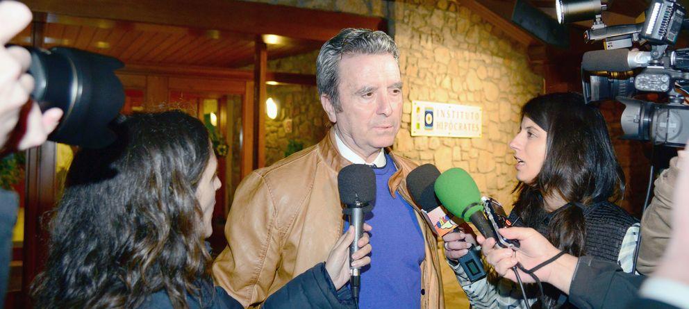 Foto: El diestro José Ortega Cano atendiendo a los medios en una imagen de archivo (Gtres)