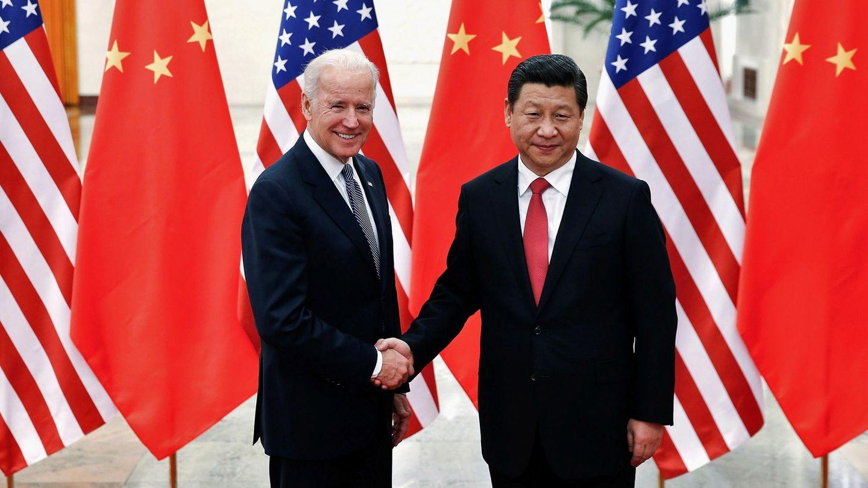 Biden y Xi Jinping. (Reuters)