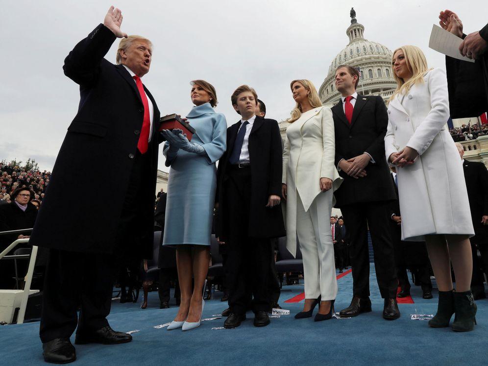 Foto: Donald Trump jura el cargo como presidente de los Estados Unidos en Washington, el 20 de enero de 2017. (Reuters)