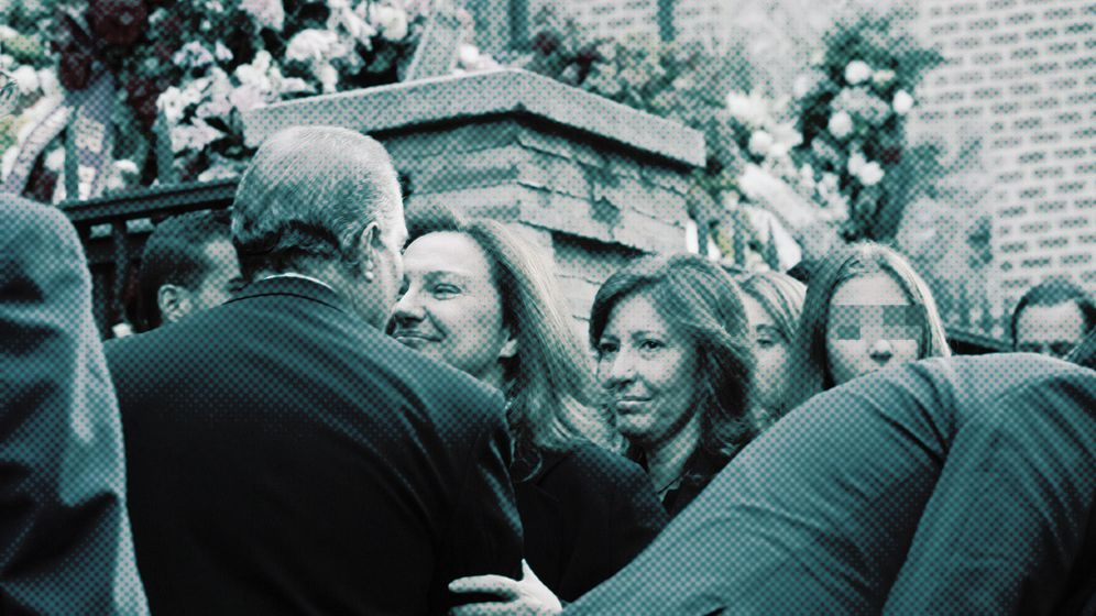 Foto: Las hijas de Isidoro Álvarez, Marta y Cristina. (Foto: Enrique Villarino)
