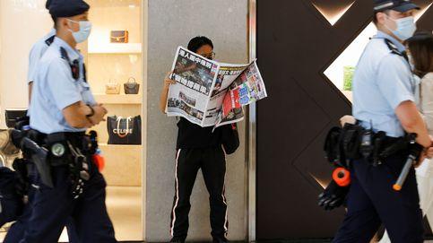 Detenido un periodista del 'Apple Daily', el extinto diario prodemocrático de Hong Kong