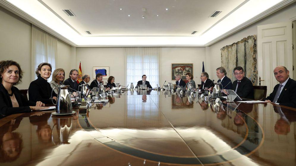 Foto: Primera reunión del actual Consejo de Ministros. (EFE)