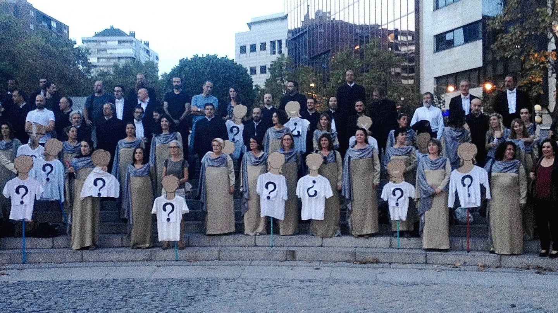 El 80% de la plantilla del Coro Nacional de España secundó ayer la huelga (P.C.)