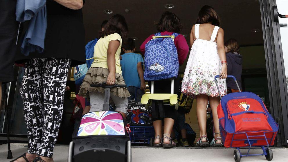 Madrid lidera los recortes en educación pese a tener la mayor renta per cápita