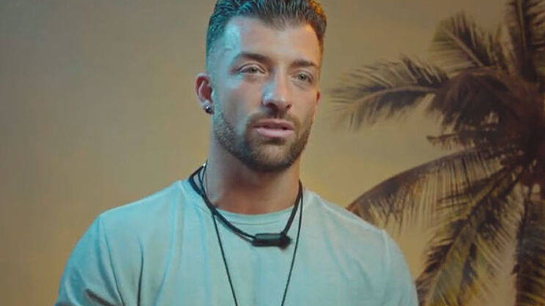 Rubén, en 'La isla de las tentaciones'. (Telecinco)