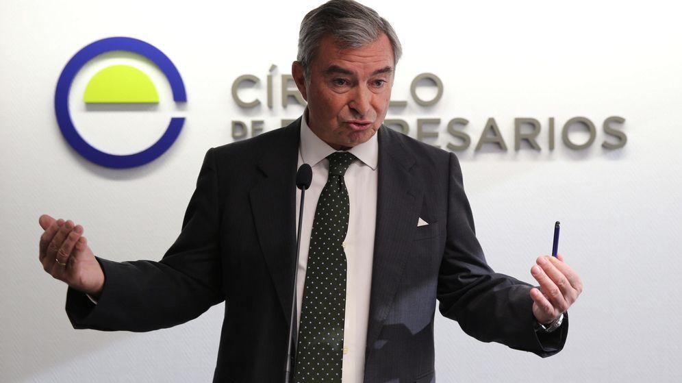 Foto: El presidente del Círculo de Empresarios, Javier Vega de Seoane. (EFE)