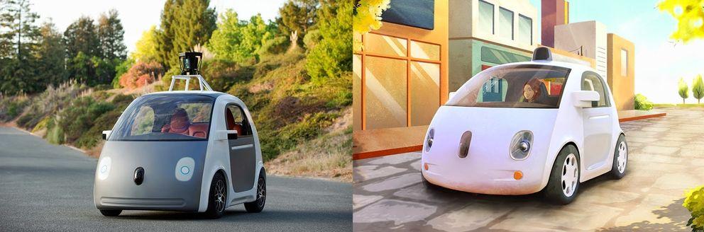 Foto: Google presenta su coche autónomo: sin conductor, volante ni pedales