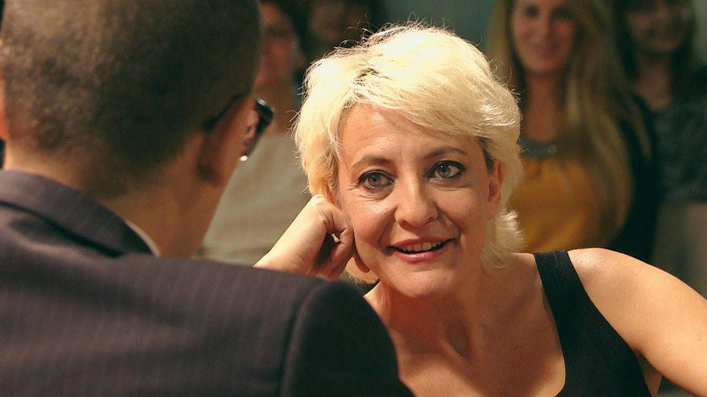 Foto: Eva Hache, entrevistada por Risto Mejide en 'Chester in love'