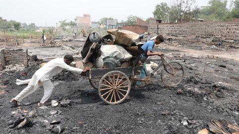 Incendio en el campamento de refugiados rohingya
