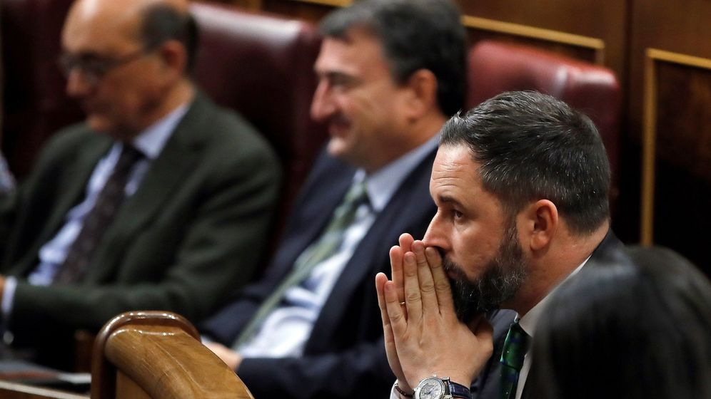 Foto: l líder de Vox, Santiago Abascal. (EFE)