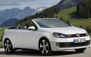 Foto: Volkswagen Golf Cabrio GTi