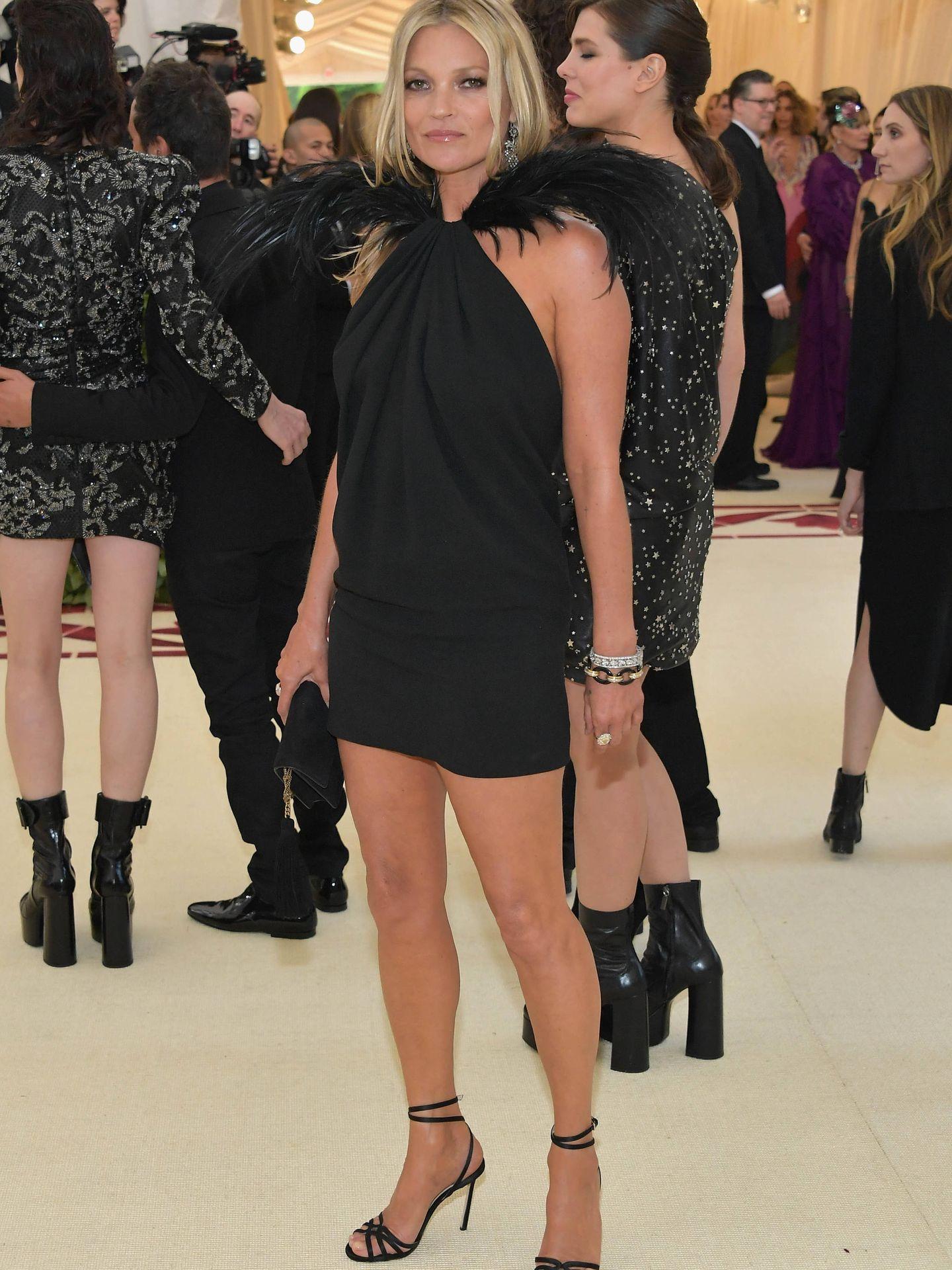 Kate Moss, en la gala MET. (Getty)