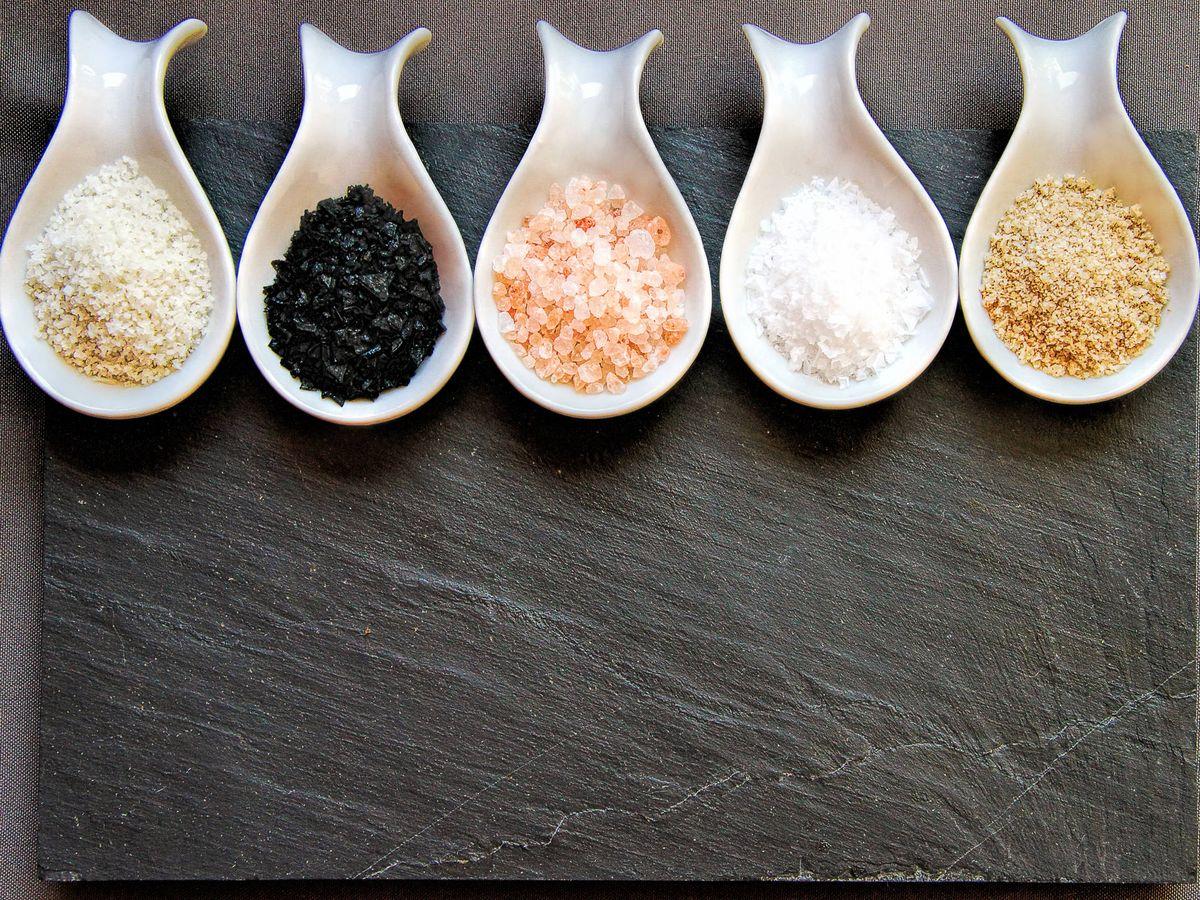 Foto: Variedades de sal. (iStock)