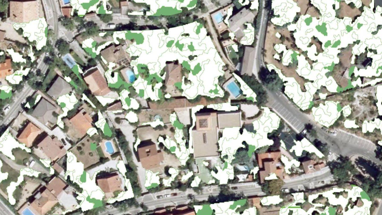 Imagen de Madrid tomada por el satélite Pleiade.