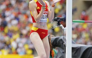 Ruth Beitia vuelve pisando fuerte y estará en su cuarta final de altura