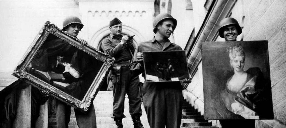 Foto: Rescate de obras de arte durante la II Guerra Mundial
