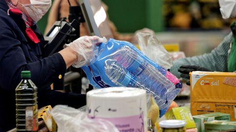 Las ventas del supermercado se disparan 71%, récord histórico, por COVID-19