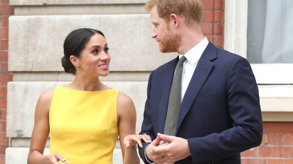 Foto: Los duques de Sussex. (Getty Images)