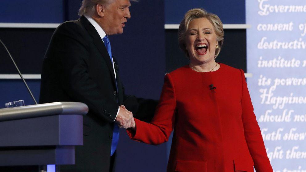 La experiencia de Clinton acorrala a Trump en un debate sin sorpresas
