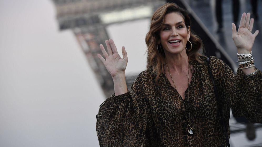 Foto: Cindy Crawford en la Semana de la Moda de París. (EFE)