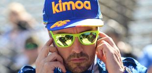 Post de Siga a Fernando Alonso en las 500 Millas de Indianápolis en directo (tras su accidente)