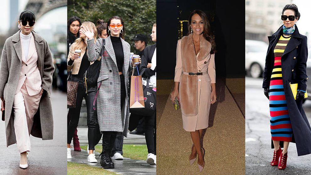 Paula Echevarría y Bella Hadid ya tienen los abrigos perfectos de la temporada