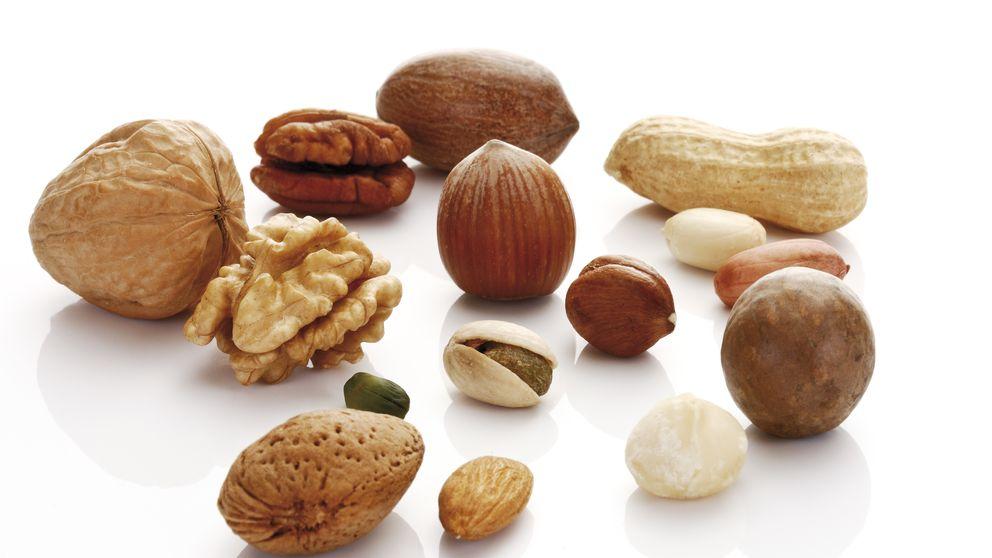 Comer  frutos secos todos los días reduce la mortalidad en un 20%
