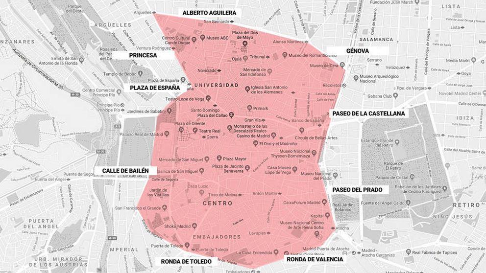 Guía definitiva de Madrid Central: invitados, plazas de garaje privado...