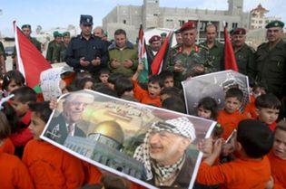 Foto: Nuevo enfrentamiento entre palestinos: seis muertos y casi cien heridos en el acto de homenaje a Arafat